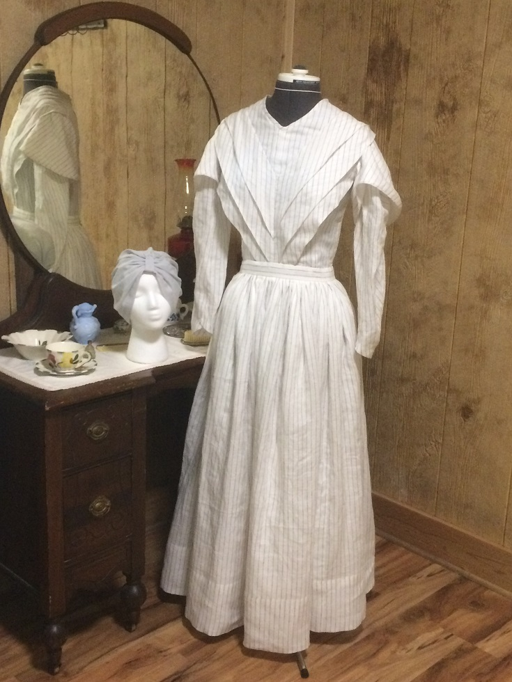 Early 1800's Work or Day Dress