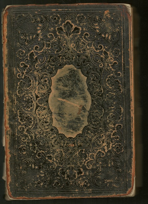 Cover of the 1857 A. J. Kalb Bible