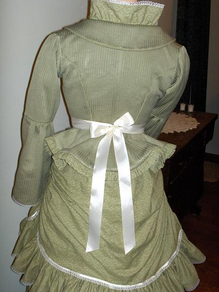 Ladies Victorian Bustle Dresses