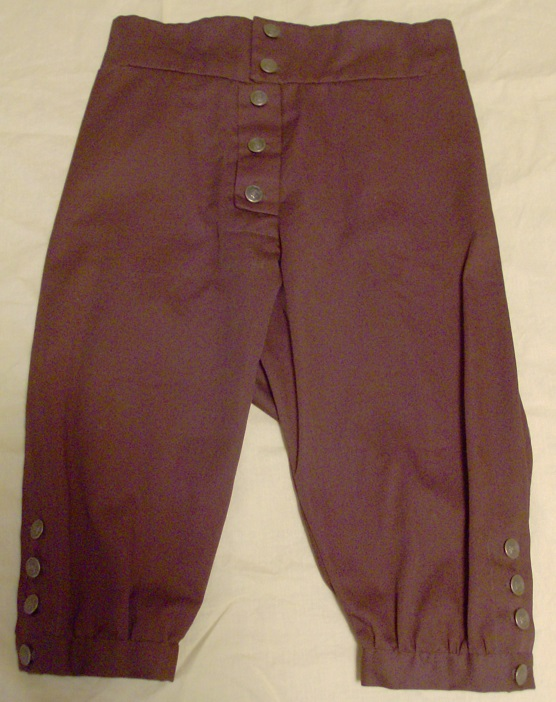 lewis and clark, george washington, breeches, knickers, 1700's