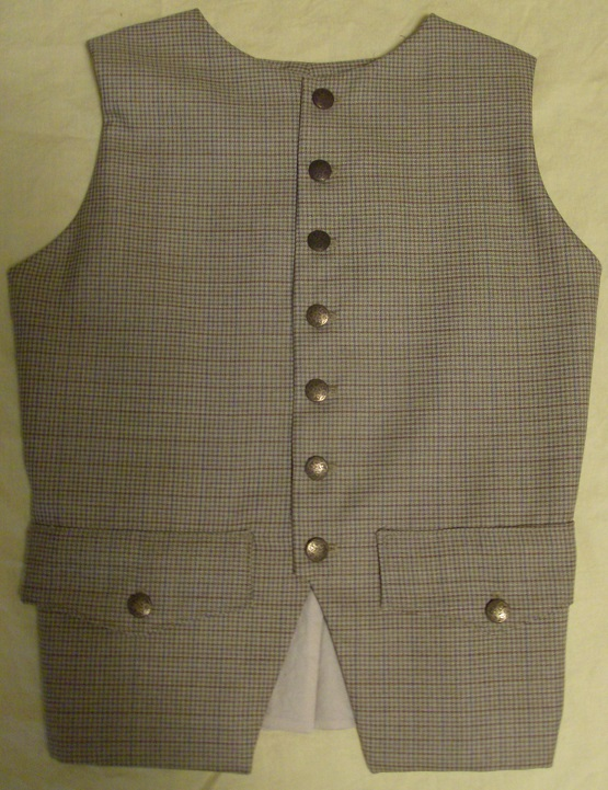 lewis and clark, george washington, breeches, waist coat, vest, 1700's