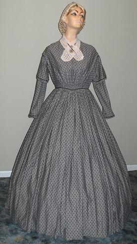 19th Century Day Dress