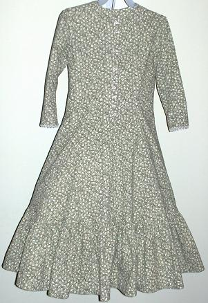 Girl's Pioneer, Victorian, including Civil War Dresses