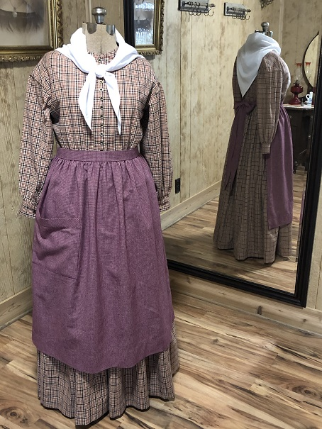 Early 1800's to 1860's Slave or Work Dress